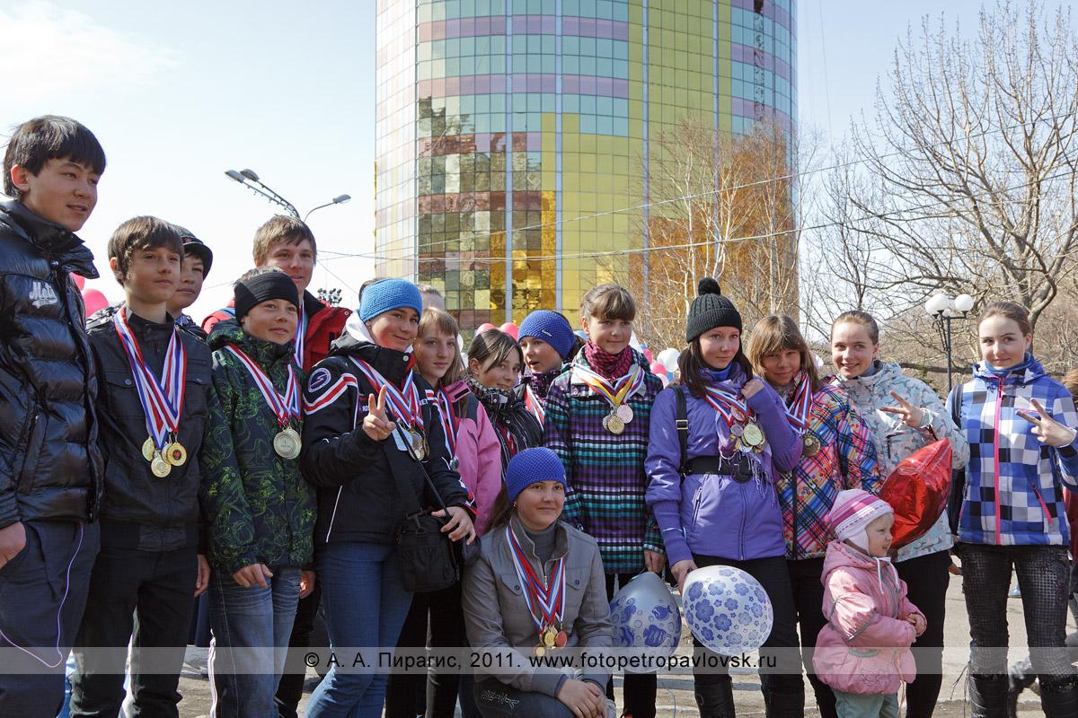 Фотография: 1 Мая — Праздник Весны и Труда. Камчатские спортсмены