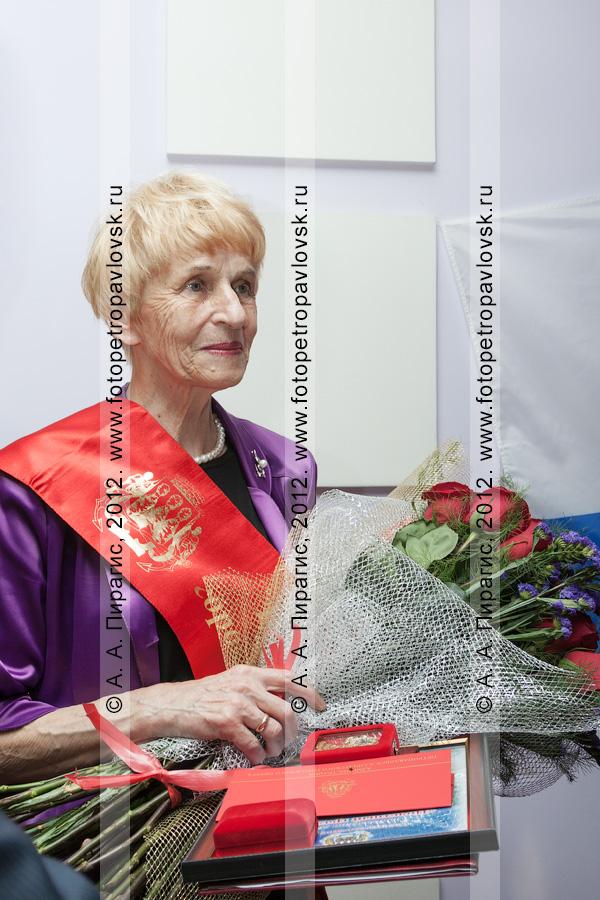 Фотография: новый почетный гражданин города Петропавловска-Камчатского — Селянгина Светлана