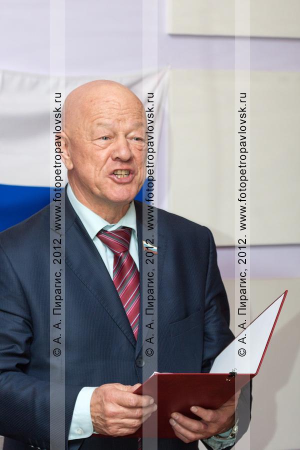 Фотография: Семчев Владимир — глава Петропавловск-Камчатского городского округа.