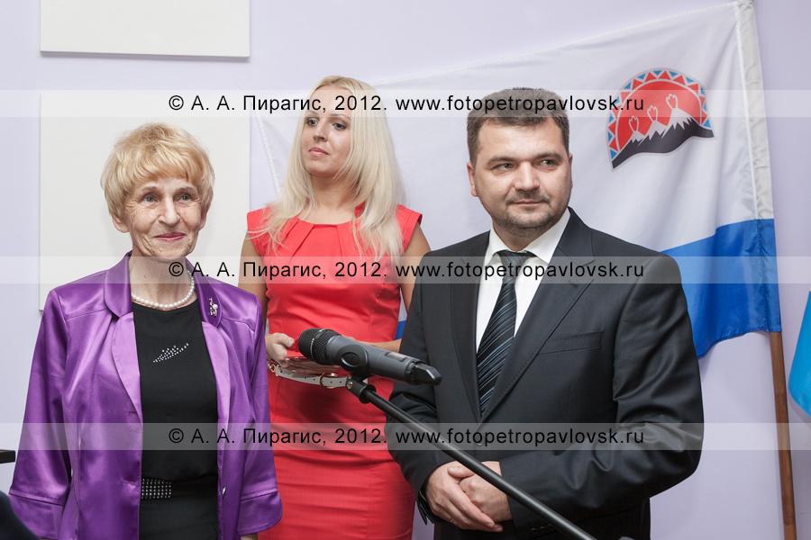 Фотография: Селянгина Светлана и Алексей Алексеев — глава администрации Петропавловск-Камчатского городского округа