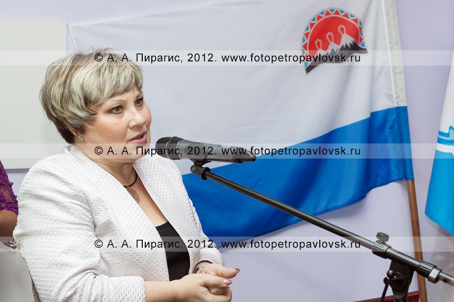 Фотография: Унтилова Ирина — заместитель председателя Правительства Камчатского края