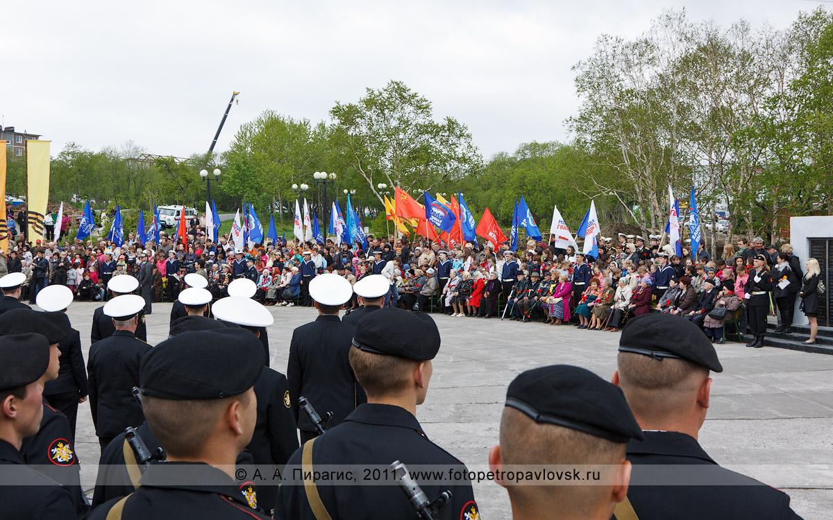 Фотография: 22 июня — День памяти и скорби. Митинг в парке Победы города Петропавловска-Камчатского