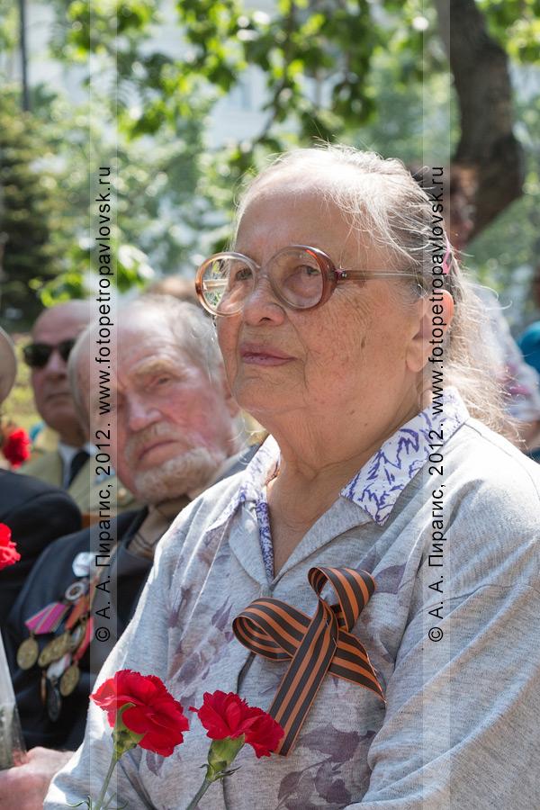 Фотография: 22 июня — День памяти и скорби. Сквер Свободы, город Петропавловск-Камчатский