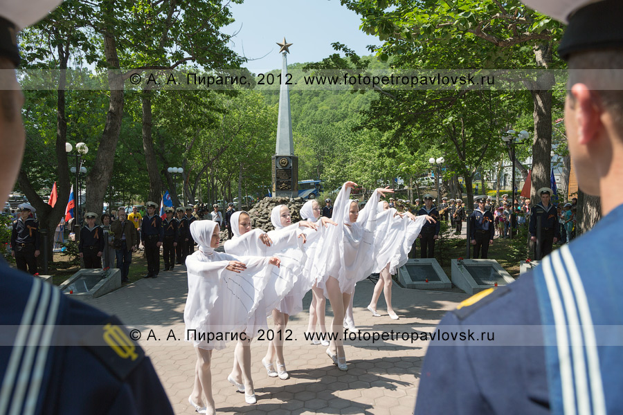 Фотография: 22 июня, День памяти и скорби. Сквер Свободы в городе Петропавловске-Камчатском