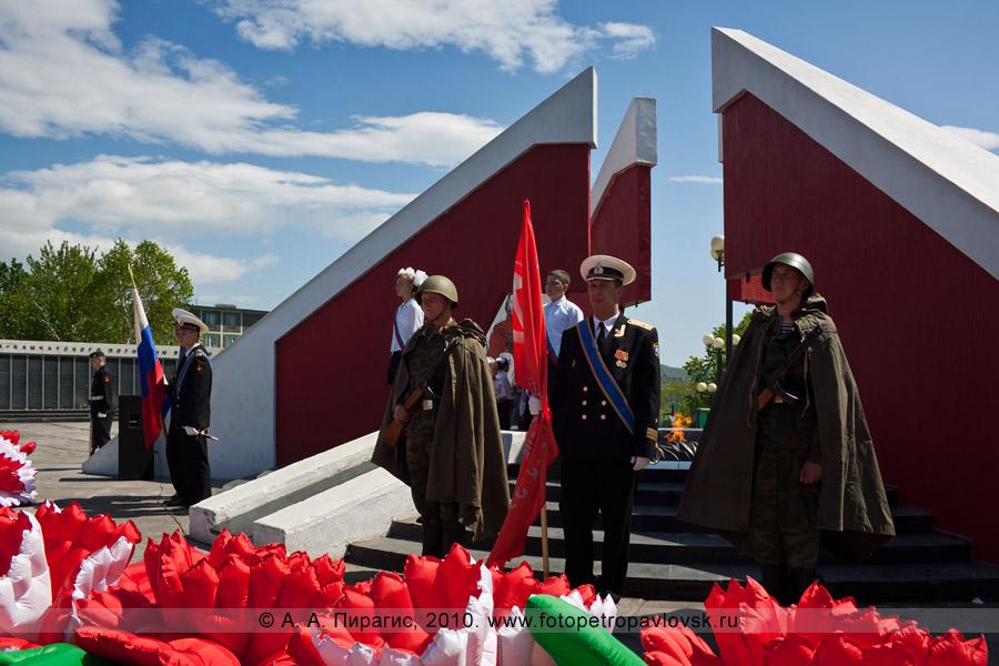 Фотография: 22 июня — День памяти и скорби в парке Победы города Петропавловска-Камчатского
