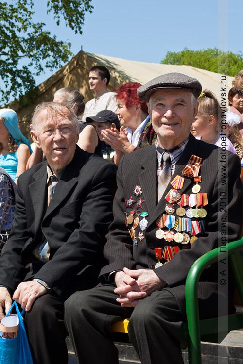 Фотография: 22 июня — День памяти и скорби в Петропавловске-Камчатском. Ветераны Великой Отечественной войны