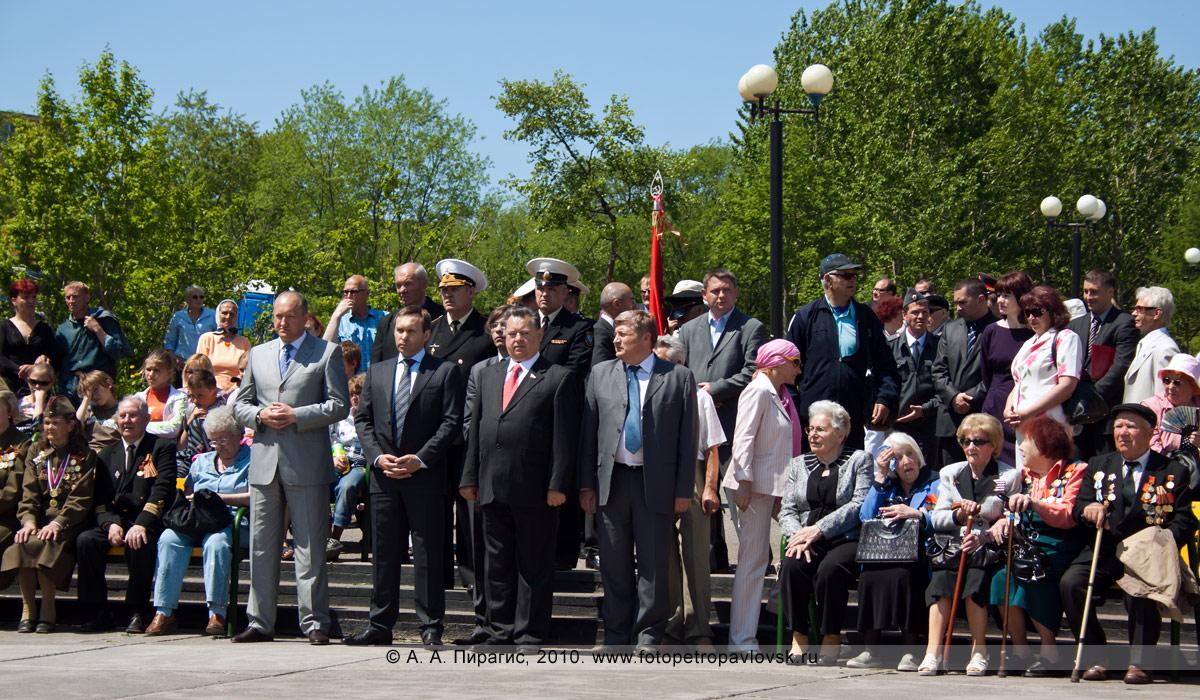 Фотография: 22 июня — День памяти и скорби в Петропавловске-Камчатском. Участники митинга в парке Победы города Петропавловска-Камчатского