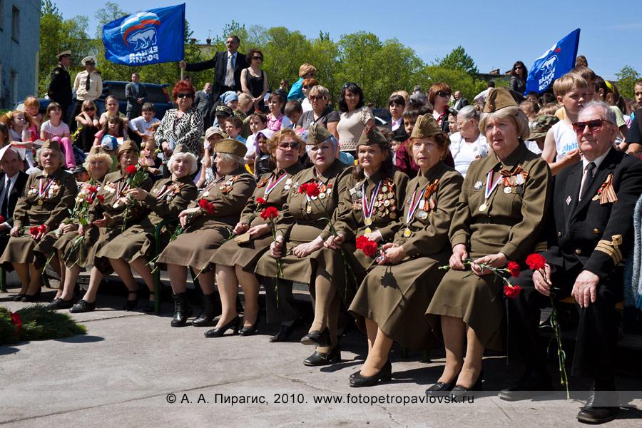 Фотография: 22 июня — День памяти и скорби в Петропавловске-Камчатском. Хор ветеранов Великой Отечественной войны