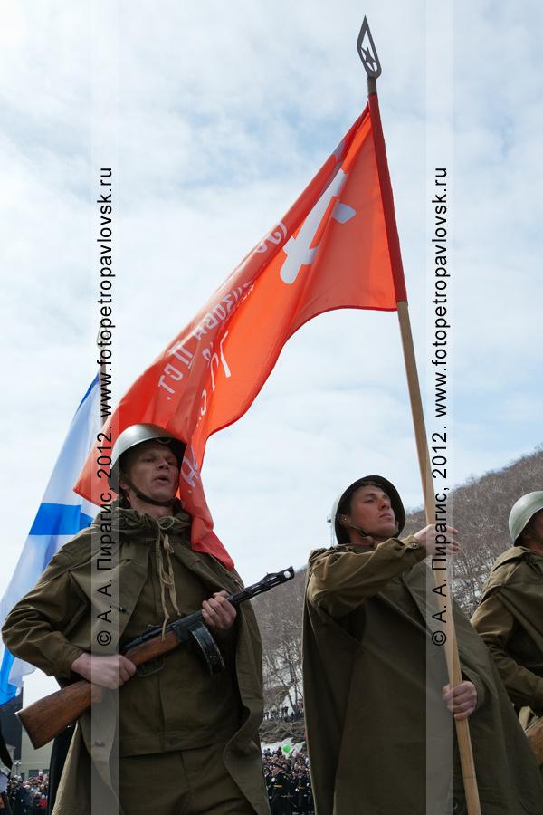 Фотография: праздничное шествие 9 Мая, в День Победы
