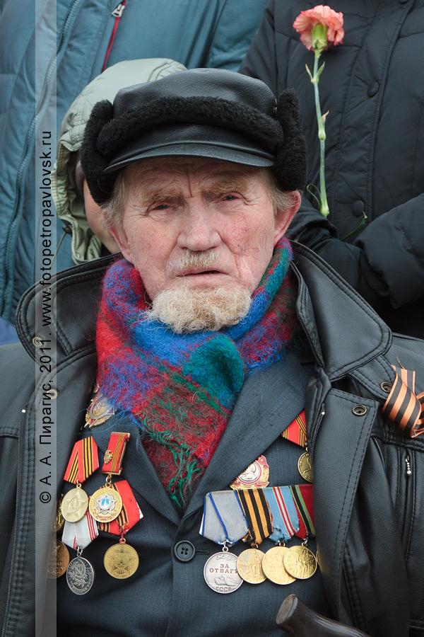 Фотография: ветеран Великой Отечественной войны. 9 Мая — День Победы