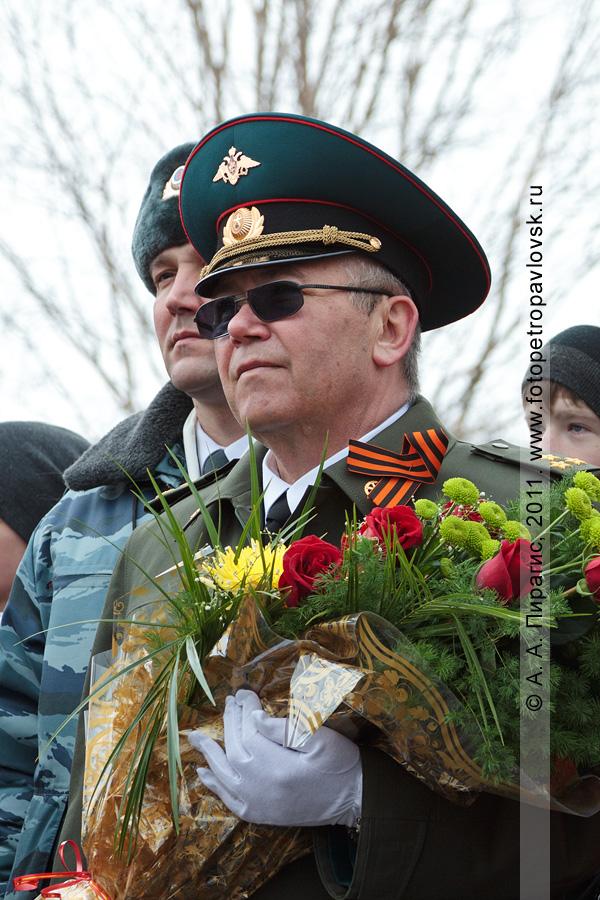 Фотография: 9 Мая — День Победы. На митинге в честь Победы советского народа в Великой Отечественной войне 1941–1945 годов