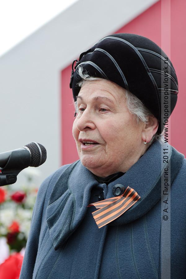 Фотография: Зоя Краснощекова — почетный гражданин Камчатской области, ветеран Великой Отечественной войны. 9 Мая — День Победы