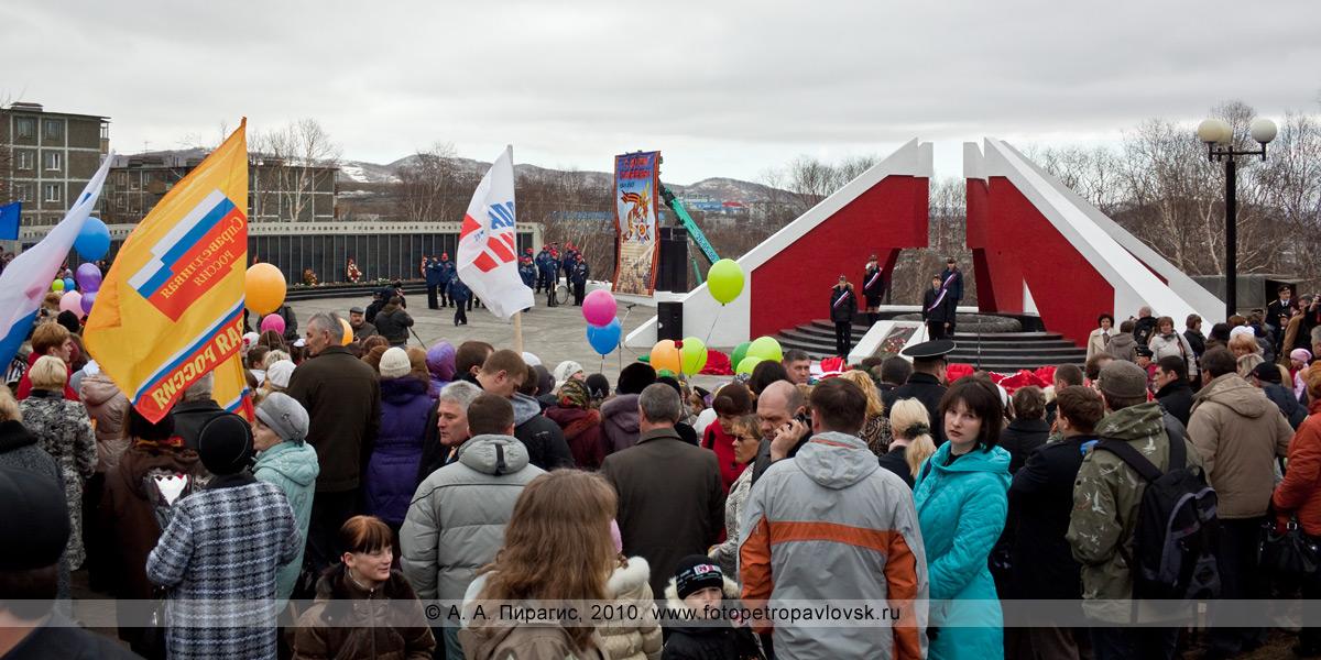 Фотография: 9 Мая, Петропавловск-Камчатский. Перед митингом в честь 65-летия Победы в Великой Отечественной войне