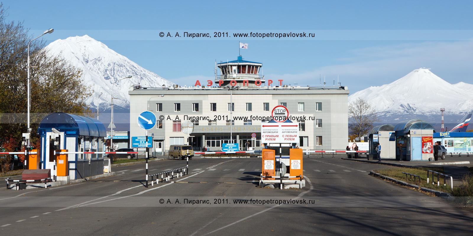 Фотография: аэропорт Елизово на Камчатке (Камчатское авиапредприятие). Камчатский край, город Елизово