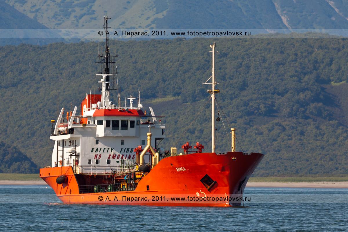 "Фотография: танкер ""Алиса"" в Авачинском заливе на Камчатке"