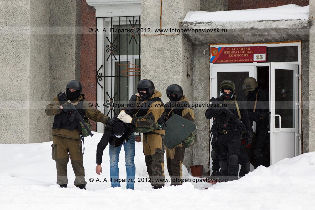Фотография: Антитеррористические учения по пресечению теракта на объекте массового пребывания людей. Камчатский край, город Петропавловск-Камчатский