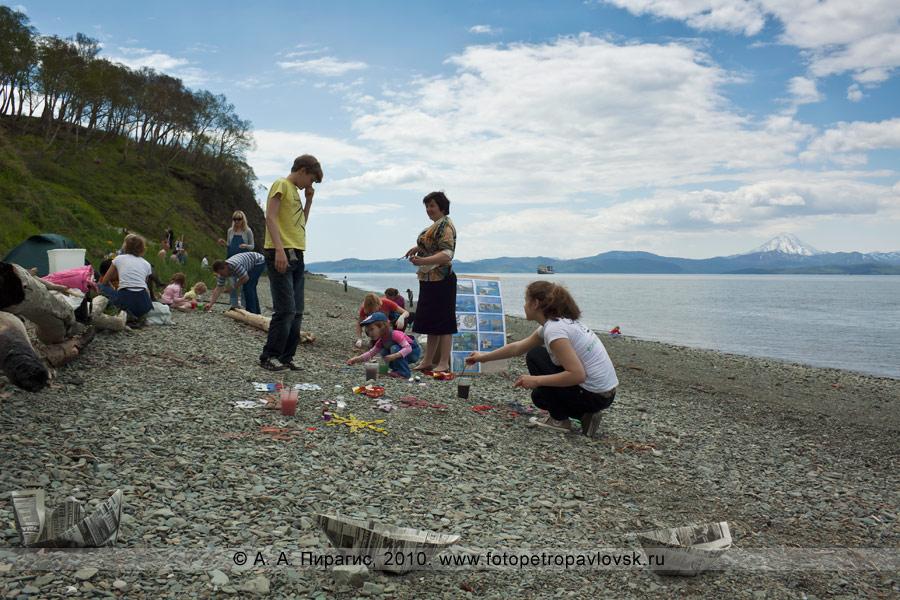 """Фотография: """"Арт-Пляж"""" в Камчатском крае (к Всемирному дню океанов)"""