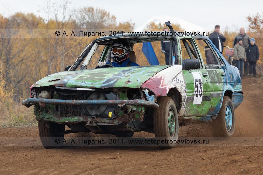 Фотография: автомотоспорт на Камчатке — соревнования по автокроссу в городе Елизово Камчатского края