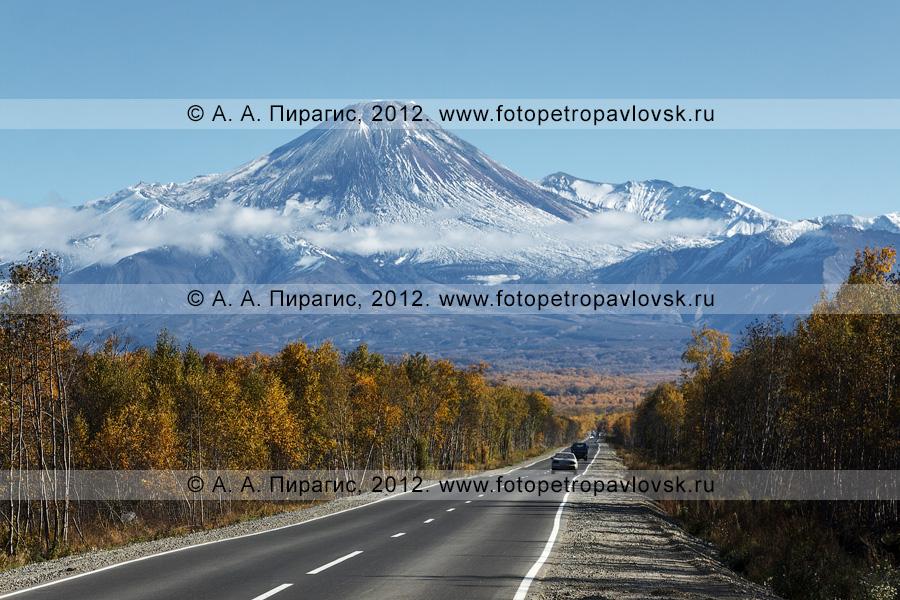 Фотография: дорога на Авачинскую сопку (Авачинский вулкан). Камчатка, Елизовский район
