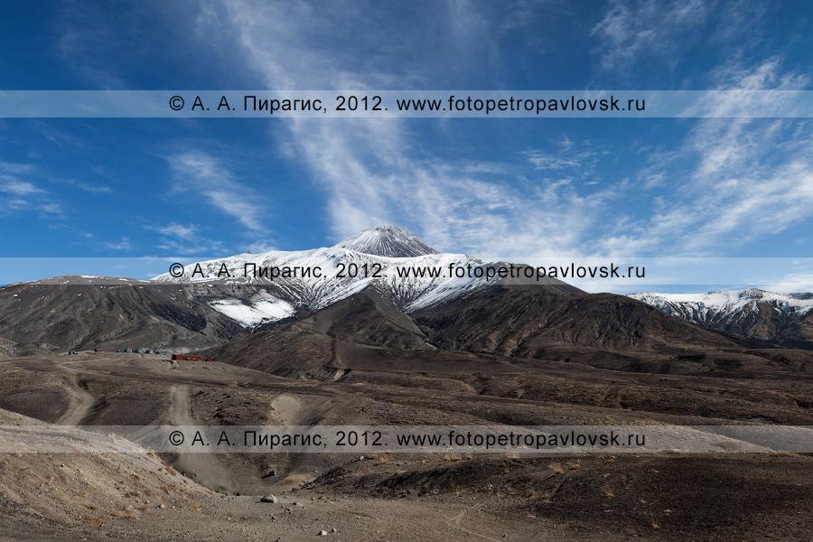 Фотография: камчатский пейзаж — Авачинский вулкан — активный вулкан Камчатки