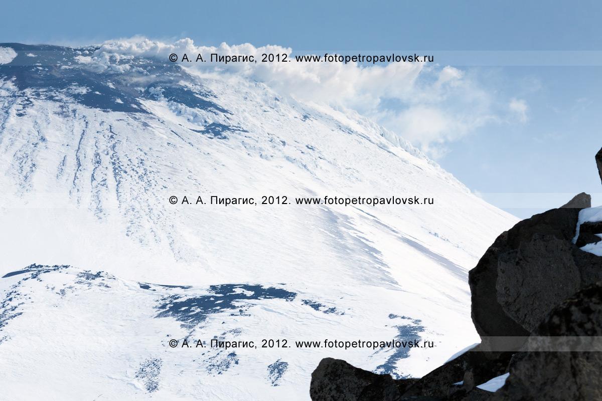 Фотография: Авачинский вулкан — действующий вулкан на Камчатке