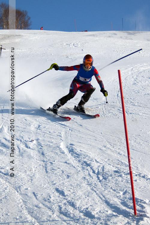 Фотография: Баранова Анастасия — 1 место в чемпионате Камчатского края по слалому