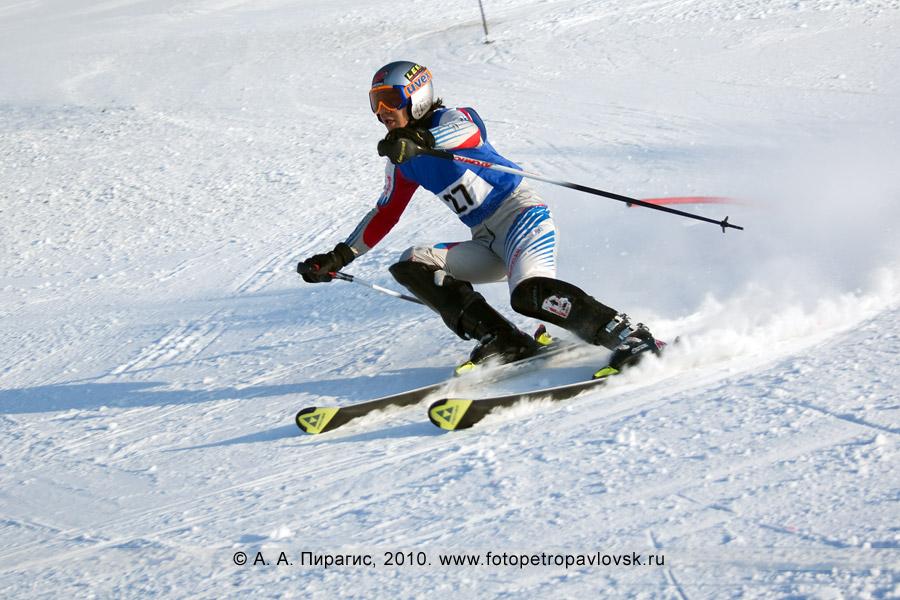 Фотография: Белоусов Алексей — 3-е место в чемпионате Камчатского края по слалому