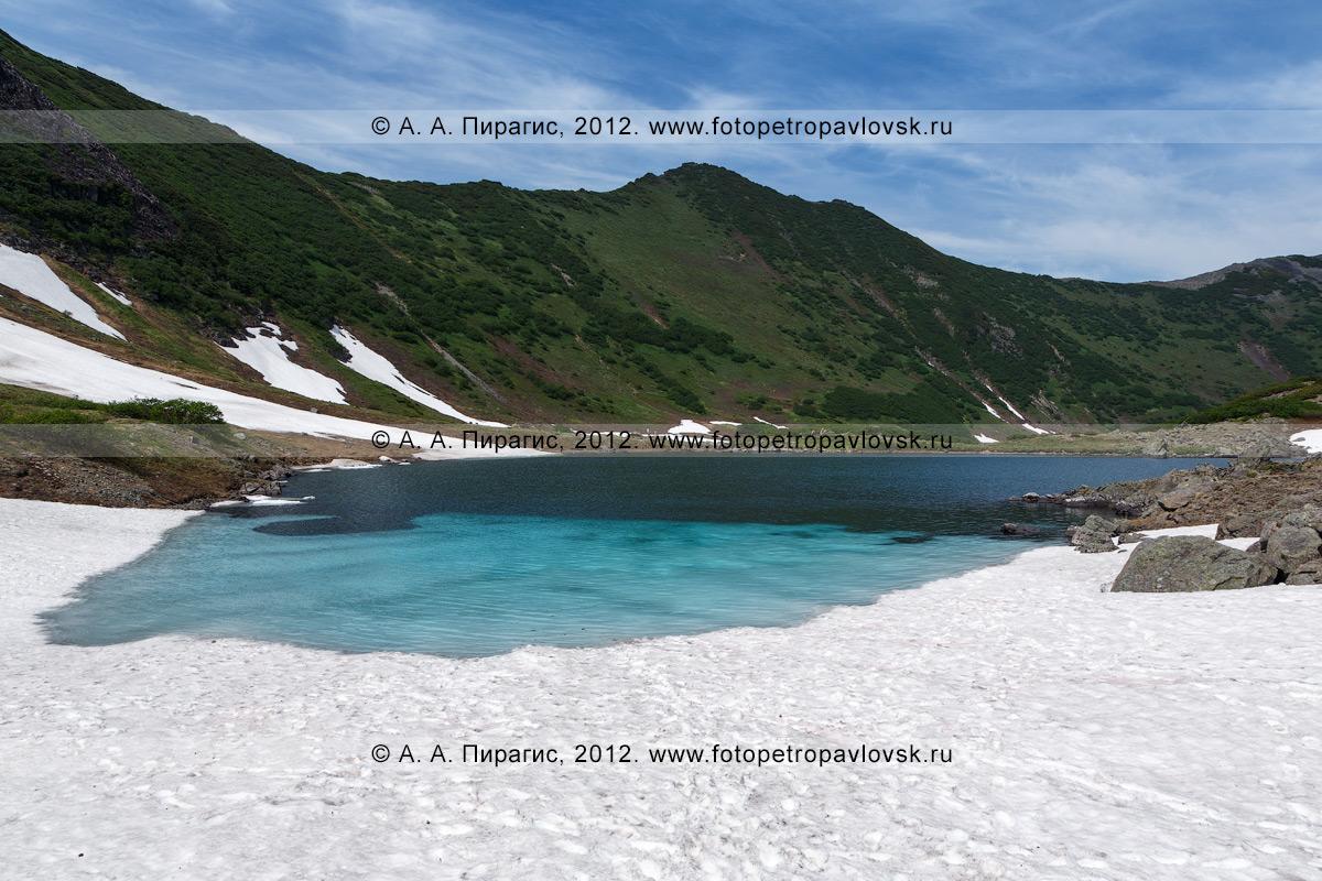 Фотография: камчатский пейзаж — Голубые озера — памятник природы полуострова Камчатка