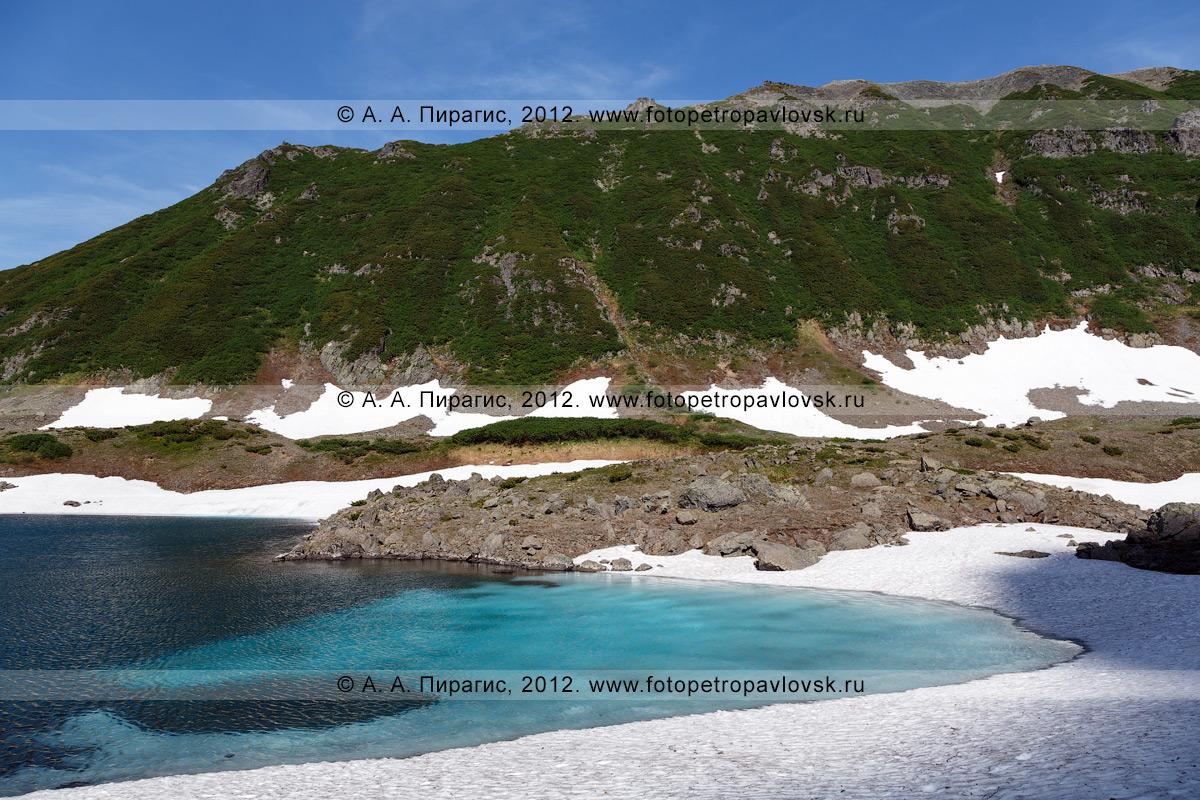 Фотография: Голубые озера — памятник природы Камчатки