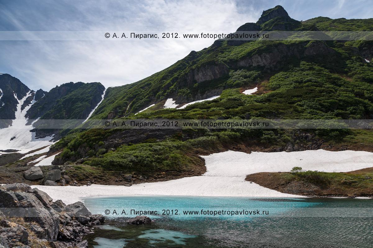 Фотография: камчатский пейзаж — Голубые озера — комплексный памятник природы полуострова Камчатка