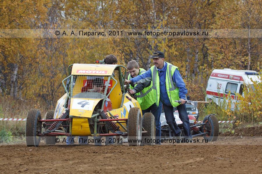 Фотография: багги. Соревнования по автомотоспорту на Камчатке — баггикросс в городе Елизово