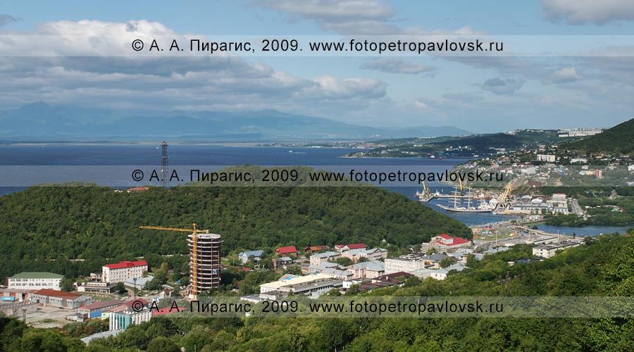 Фотография: исторический центр города Петропавловска-Камчатского, Никольская сопка