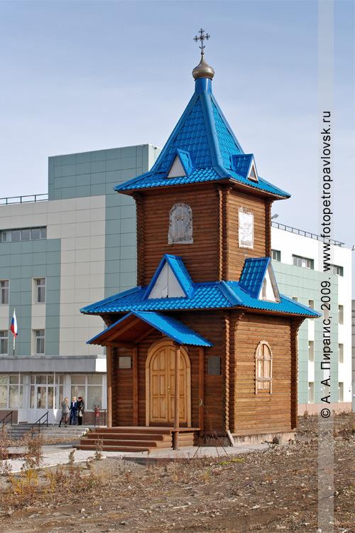 Часовня святых архангелов и ангелов в городе Петропавловске-Камчатском
