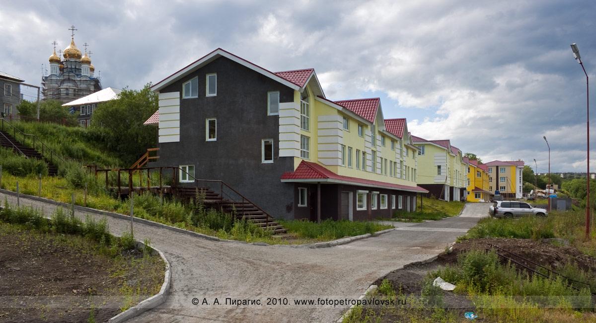 Фотография: новые дома (коттеджи). Петропавловск-Камчатский, Туристический проезд (остановка 4-й километр)