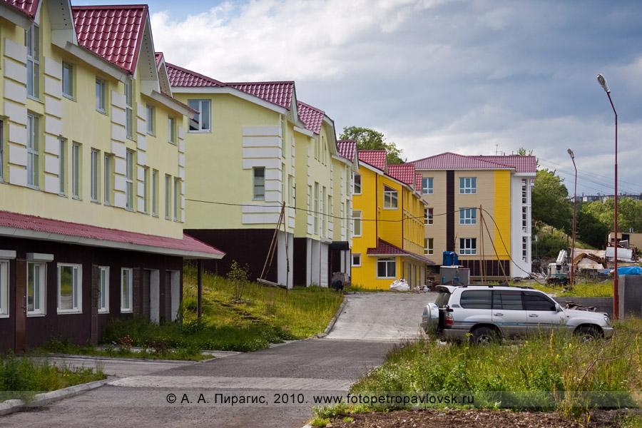Фотография: новые коттеджи в Петропавловске-Камчатском на Туристическом проезде