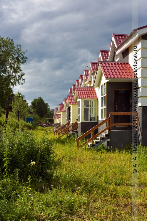 Фотография: коттеджи в Петропавловске-Камчатском на Туристическом проезде