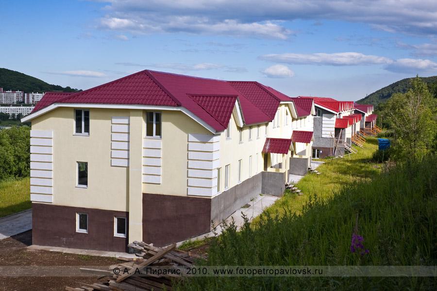 Фотография: новые современные коттеджи. Город Петропавловск-Камчатский, Туристический проезд