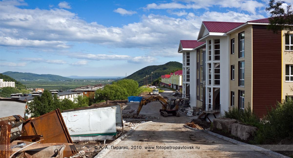 Фотография: строительство новых домов на Камчатке — современные комфортабельные коттеджи. Петропавловск-Камчатский, Туристический проезд