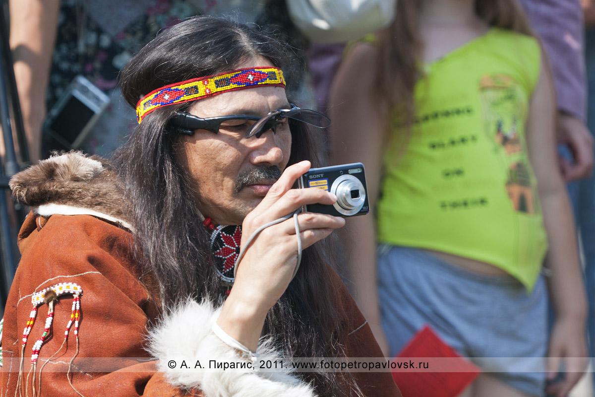 """Фотография: камчатский фотограф — участник национального ансамбля """"Ангт"""". День аборигена на Камчатке"""