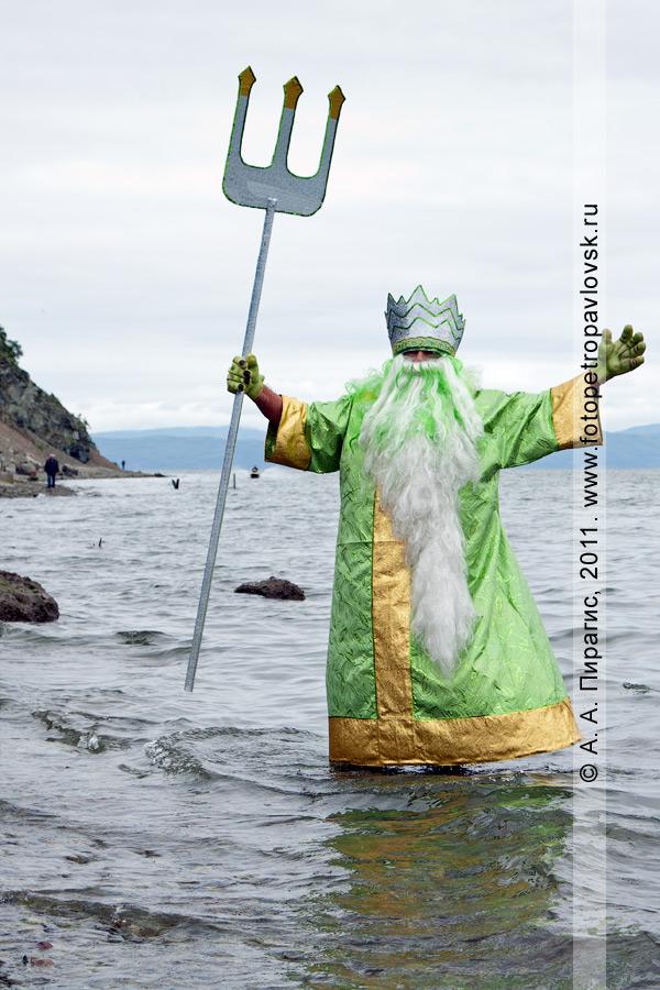 Фотография: Нептун — бог подводного мира