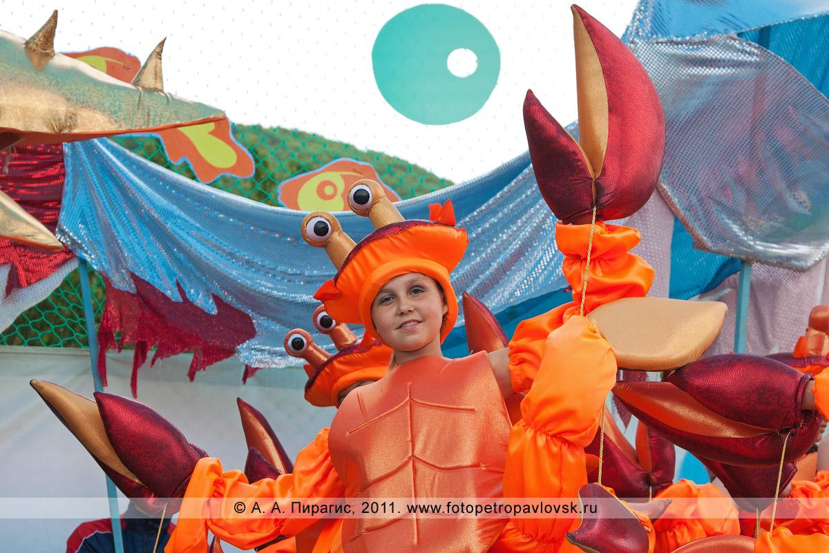 Фотография: в костюме камчатского краба. День рыбака в Петропавловске-Камчатском