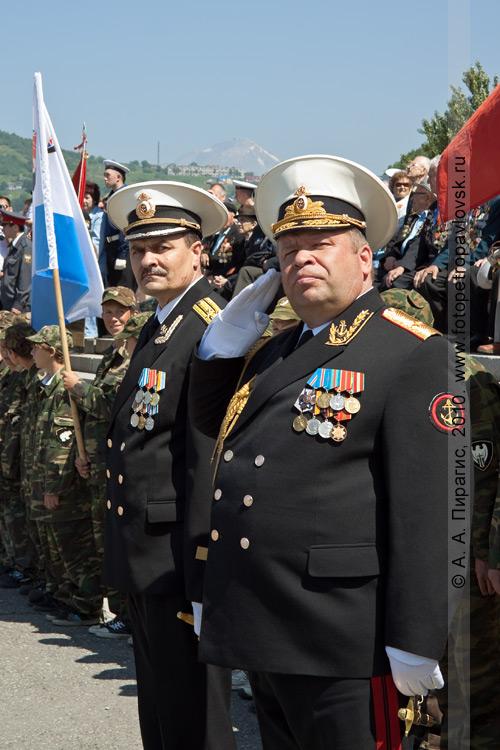 Фотография: День ВМФ — военный парад в Петропавловске-Камчатском