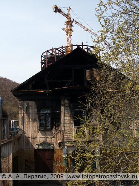 Дом камчатского купца Подпругина в историческом центре города Петропавловска-Камчатского