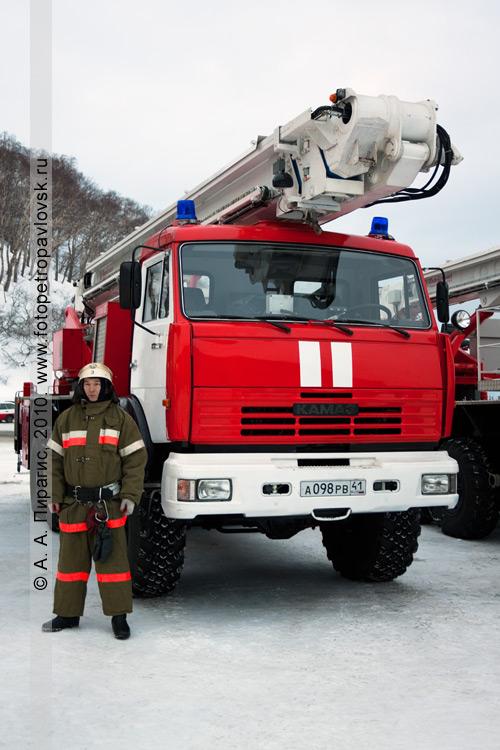 Фотография: новый аварийно-спасательный автомобиль, поступивший на вооружение спасательных подразделений Камчатского края