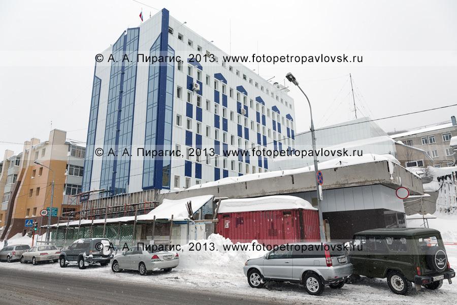 Фотография: Управление Федеральной службы безопасности Российской Федерации по Камчатскому краю в центре Петропавловска-Камчатского