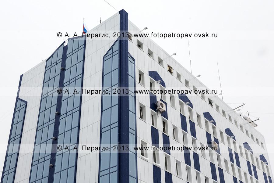 Фотография: фасад здания УФСБ России по Камчатскому краю после капитального ремонта