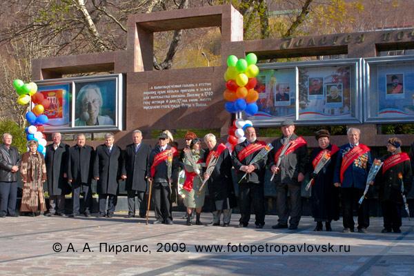 Галерея почетных граждан в городе Петропавловске-Камчатском