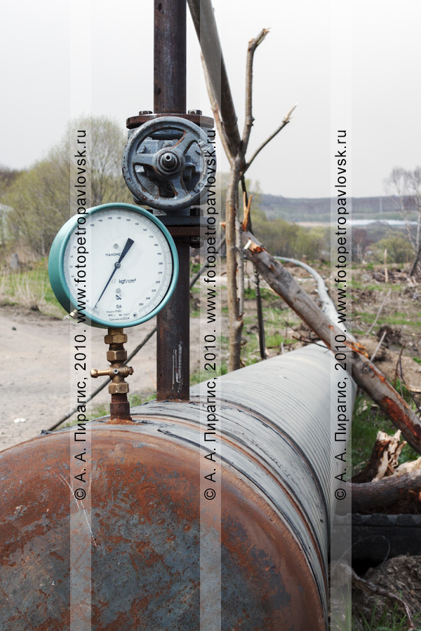 Фотография: газопровод на полуострове Камчатка: Соболево — Петропавловск-Камчатский
