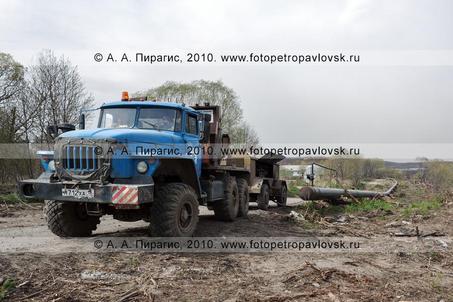 Фотография: газопровод в Камчатском крае: Соболево — Петропавловск-Камчатский