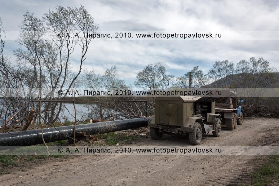 Фотография: газопровод на Камчатке: Соболево — Петропавловск-Камчатский